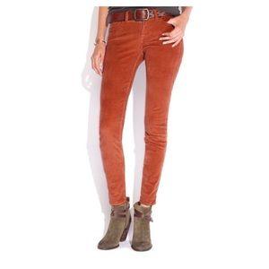 {Lucky Brand} Sofia Skinny Corduroy Pants | 6/28